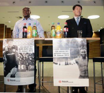 24.01.2013, Ein Abend mit Bum-Kun Cha und Anthony Yeboah