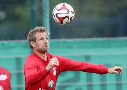 09.07.2014, Fussball, 1. BL, Trainingslager Eintracht Frankfurt auf Norderney - Tag 4
