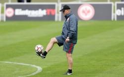 27.08.2014, Fussball, 1. BL, Training Eintracht Frankfurt