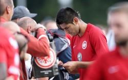 12.08.2014, Fussball, 1. BL, Training Eintracht Frankfurt