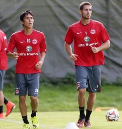 08.09.2014, Fussball, 1. BL, Training Eintracht Frankfurt