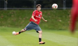26.09.2014, Fussball, 1. BL, Training Eintracht Frankfurt