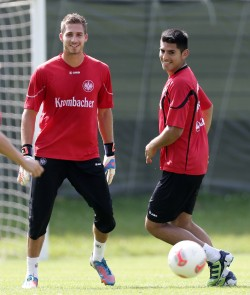 17.08.2012, Fussball, 1. BL, Training Eintracht Frankfurt