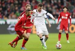 20.12.2014, Fussball, 1. BL, Bayer 04 Leverkusen - Eintracht Frankfurt