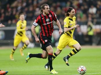 30.11.2014, Fussball, 1. BL, Eintracht Frankfurt - Borussia Dortmund