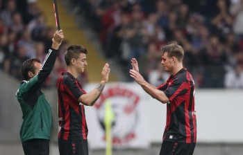 29.08.2013, Fussball, Europa League Quali, Eintracht Frankfurt - FK Qarabag