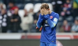 25.10.2014, Fussball, 1. BL, Eintracht Frankfurt - VfB Stuttgart