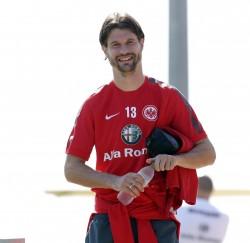 16.01.2015, Fussball, Trainingslager Eintracht Frankfurt in Abu Dhabi - Tag 4