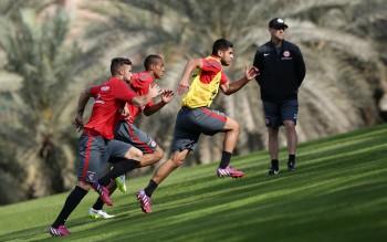 Im Trainingslager in Abu Dhabi sollte die nötige Fitness für die Rückrunde erarbeitet werden.