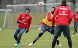 28.01.2015, Fussball, 1. BL, Training Eintracht Frankfurt