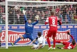 31.01.2015, Fussball, 1. BL, SC Freiburg - Eintracht Frankfurt