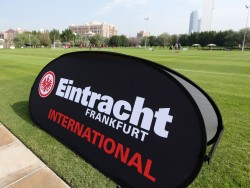 18.01.2015, Fussball, Trainingslager Eintracht Frankfurt in Abu Dhabi - Tag 6