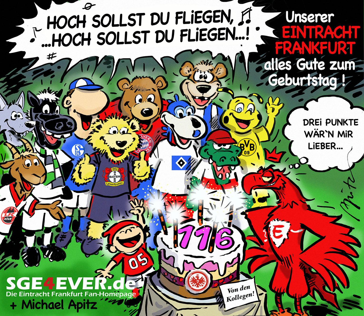Happy Birthday Eintracht Frankfurt Sge4everde Das