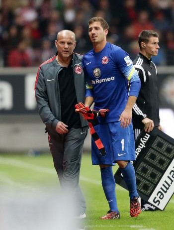 Kevin Trapp Auswechselung