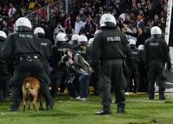 23.04.2012, Fussball, 2. BL, Alemannia Aachen - Eintracht Frankfurt