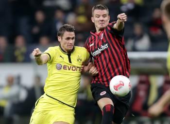 25.09.2012, Fussball, 1. BL, Eintracht Frankfurt - Borussia Dortmund