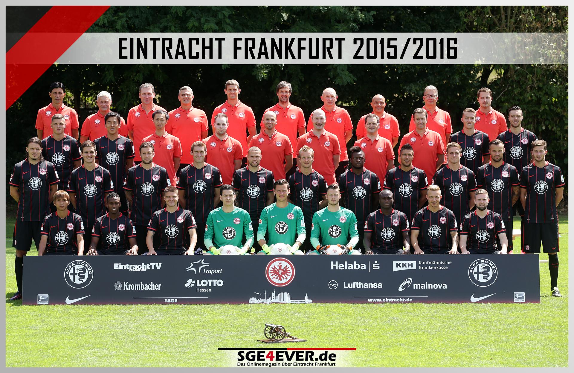 Eintracht Frankfurt Mannschaftsfoto