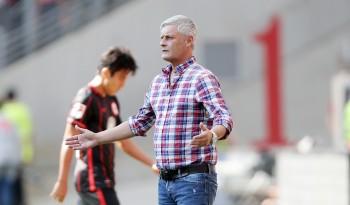 War mit der Leistung seines Teams heute nicht zufrieden: Eintracht-Coach Armin Veh