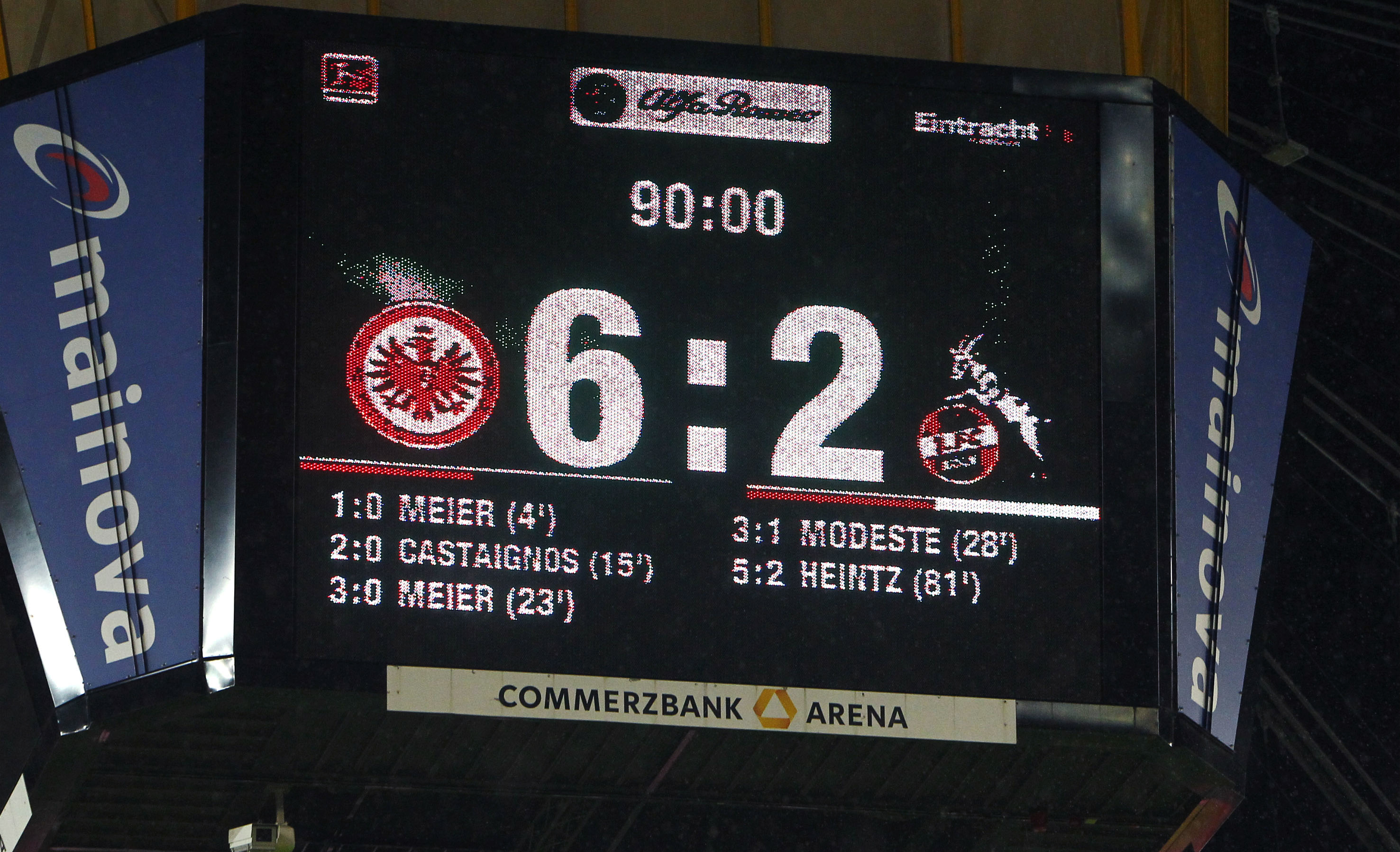12092015 Fussball 1 Bl Eintracht Frankfurt 1 Fc Köln
