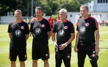 Armin Veh tritt mit seinem Trainerteam pünktlich zum 1. Juli seinen Dienst an
