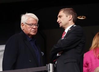Finanzvorstand Oliver Frankenbach hofft auf einen Europa-League-Einzug.