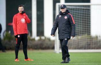 Trainer Armin Veh und Haris Seferovic fanden nicht zueinander.