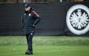 Trainer Armin Veh ist bitter enttäuscht von seiner Mannschaft!