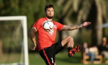 Haris Seferovic musste heute das Training pausieren und könnte somit das anstehende Testspiel verpassen.