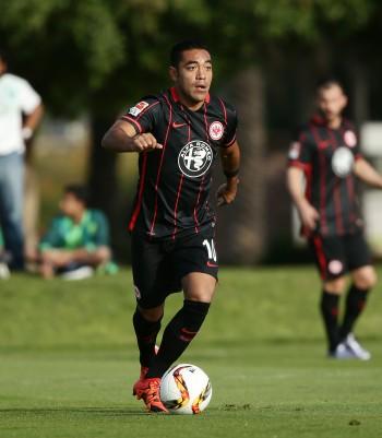 Überzeugte in seinem erstem Testspiel für die Eintracht. Marco Fabián.