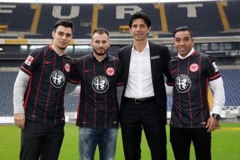 Die Eintracht präsentierte früh ihre Neuzugänge zur kommenden Rückrunde.