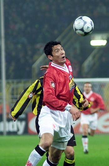 Chen Yang erzielte gegen Wolfsburg einen Doppelpack.
