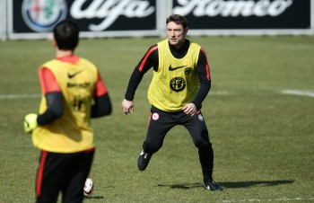 Robert Kovac stellte sich diese Woche den Fragen von kleinen Eintrachtfans.