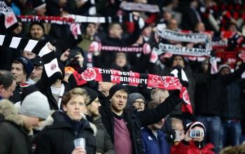 19.02.2016, Fussball, 1. BL, Eintracht Frankfurt - Hamburger SV
