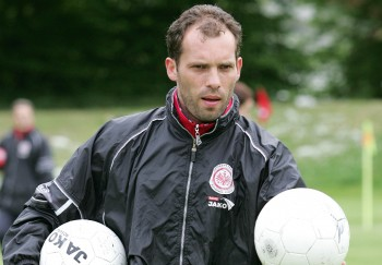 Beim Aufstieg gegen Mainz erzielte Ralf Weber das Führungstor.