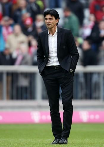 02.04.2016, Fussball, 1. BL, FC Bayern München - Eintracht Frankfurt. Eintracht-Sportdirektor Bruno Hübner nach dem Spiel. Foto: Heiko Rhode, Bad Homburg ***WWW.FOTO-RHODE.DE*** FON 0172-6703266