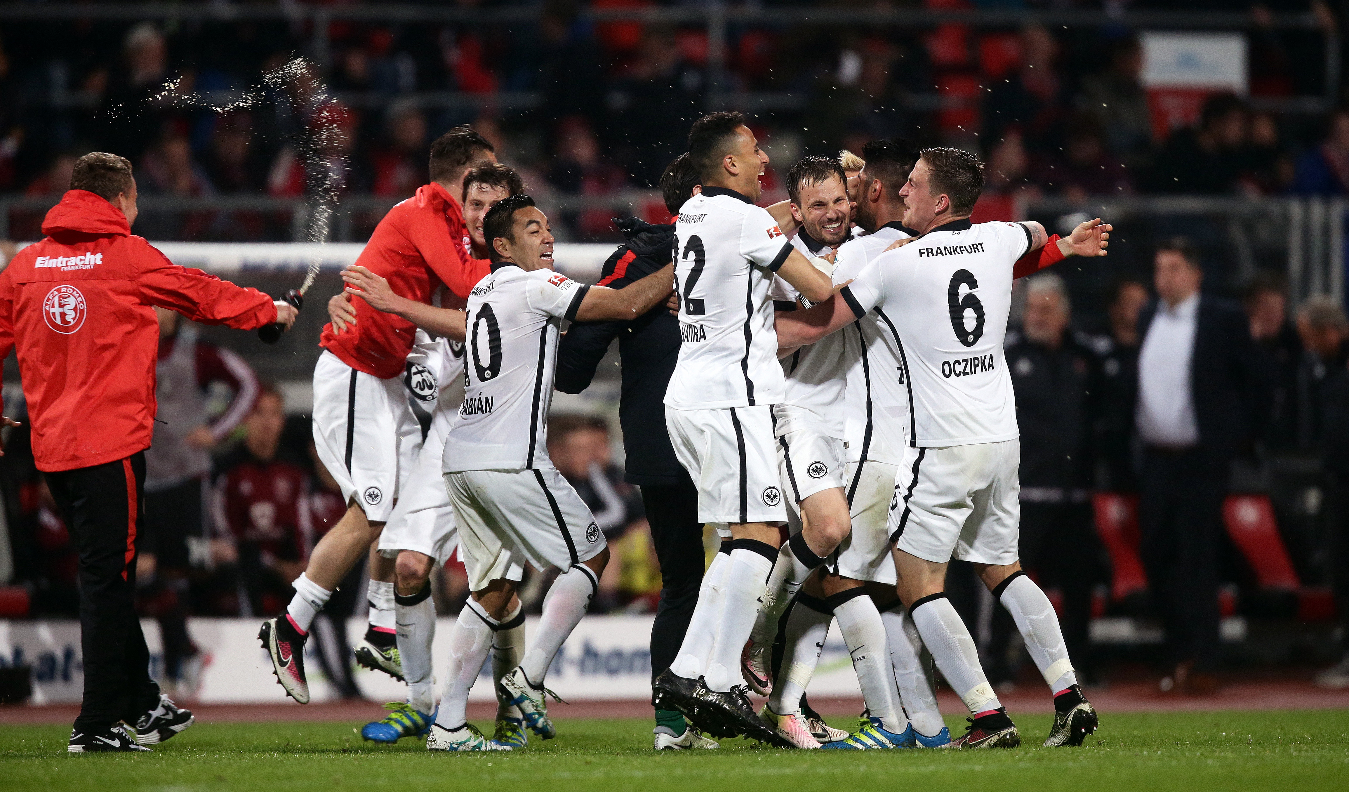23052016 Fussball Bl Relegation 1 Fc Nürnberg Eintracht