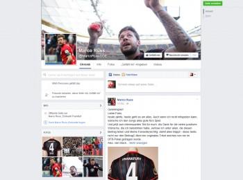 Marco Russ besitzt keine eigene Seite bei Facebook - dies ist ein Fake