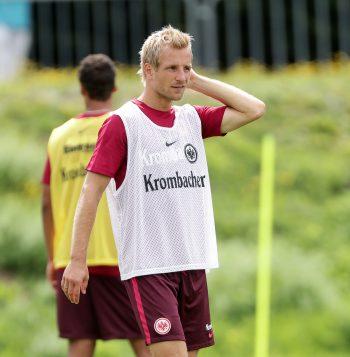 Trug wohlmöglich heute letztmals die Arbeitskleidung von Eintracht Frankfurt: Stefan Aigner