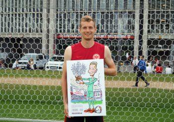 Lukas Hradecky hat schon einen Platz für diese besondere Auszeichnung gefunden