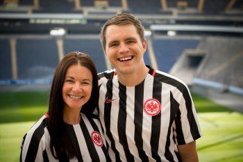 Die glücklichen Gewinner Anja Nagelschmidt und Philipp Frank