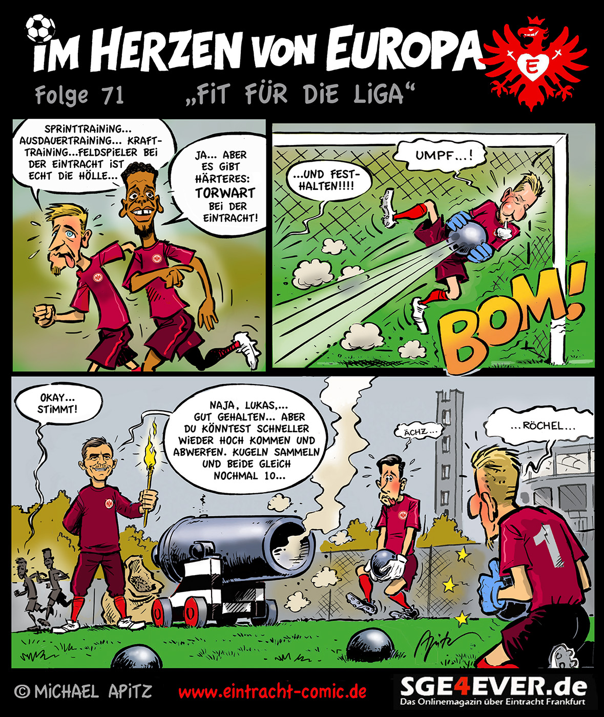 """Im Herzen von Europa – Folge 71 """"Fit für die Liga"""""""