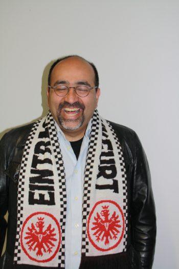 Omid Nouripour, Vorsitzender des EFC bundesAdler in Berlin