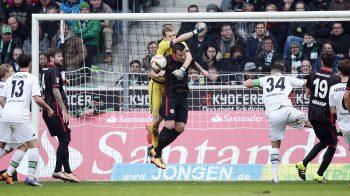 12.03.2016, Fussball, 1. BL, Borussia Mönchengladbach - Eintracht Frankfurt