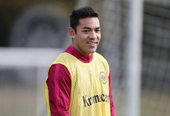Lobte den kommenden Gegner, zeigte sich aber trotzdem selbstbewusst: Marco Fabián.