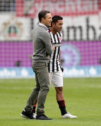 Zwei Gesichter, die für den Aufschwung der Eintracht stehen: Niko Kovac und Marco Fabián.