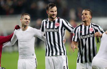 Wie lange jubelt Haris Seferovic noch im Trkot der Eintracht?
