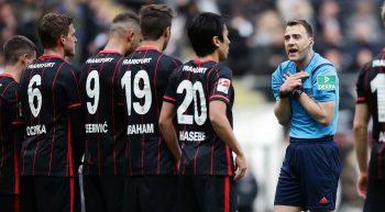 24.04.2016, Fussball, 1. BL, Eintracht Frankfurt - FSV Mainz 05