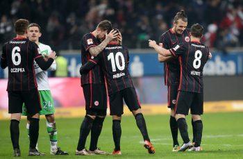 24.01.2016, Fussball, 1. BL, Eintracht Frankfurt - VfL Wolfsburg