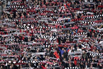 Eintracht Frankfurt - Erzgebirge Aue.
