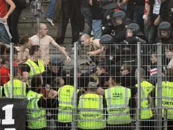 Das Spiel der Eintracht in Leipzig gilt als Risikospiel.